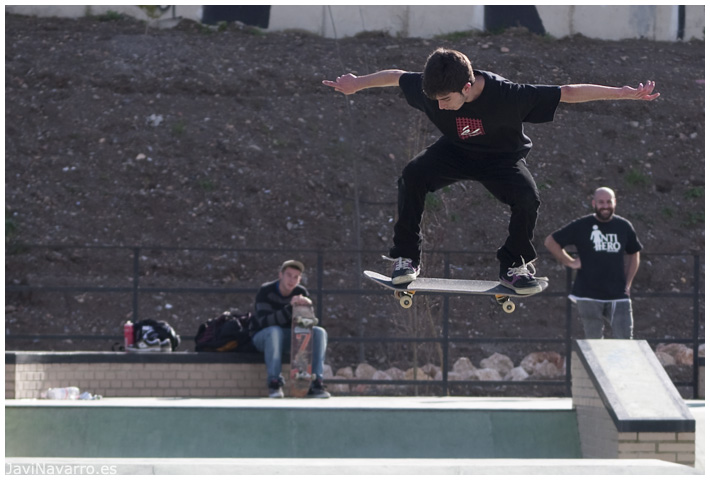 Skaters 4 - Nikon D90 - 1/800s - f/5,6 - ISO 200 - a pulso